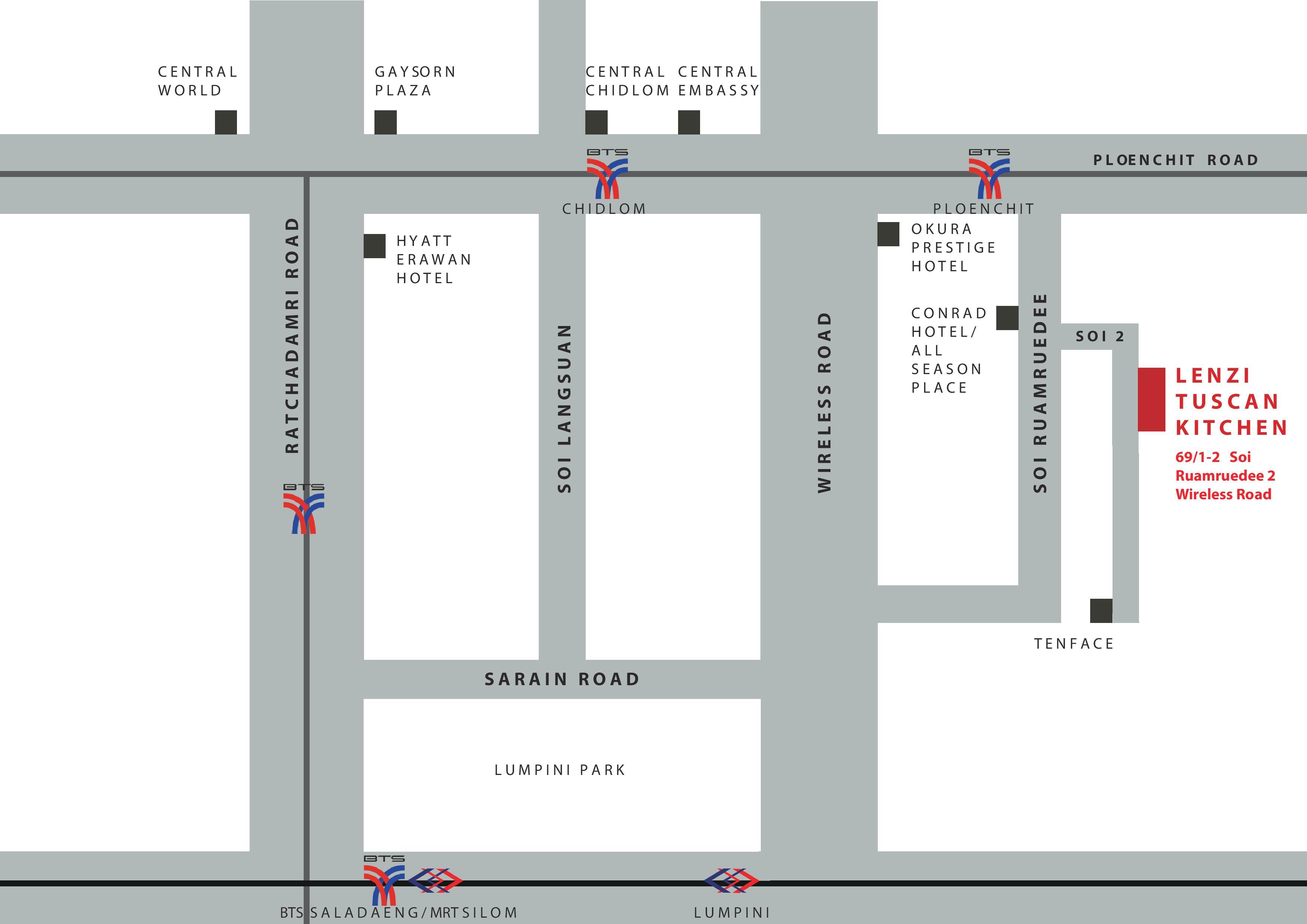 Lenzi Tuscan Kitchen - Map-page-001